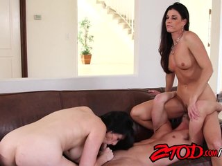Fabulous cougar threesome..