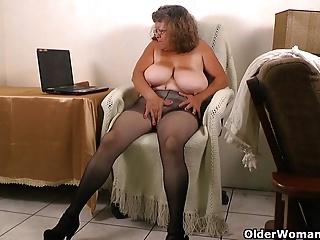 Grandma is feeling frisky..