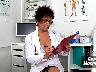 Czech chunky tits doctor..