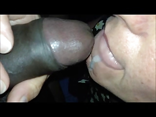 Horny Mom Opens Mouth to..