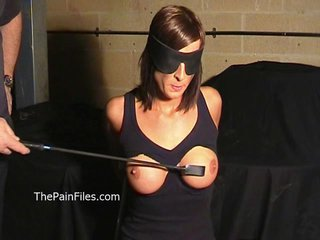 Busty Danii Blacks breast..