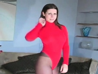 Savoury cosset in pantyhose..