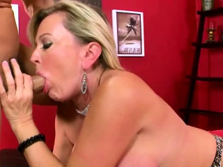 Nifty Donna leopard foreplay