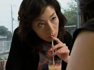 Edacious Japanese housewife..