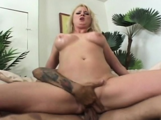 Blonde milf takes sting cock..