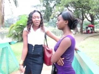 African lesbian virago..