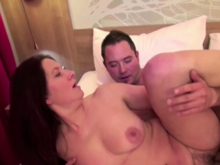 Hot MILF Seduce Young Pal to..