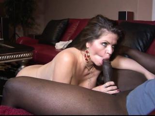 BBW brown loves big cocks