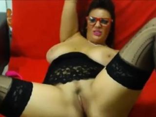 Sexy big chest milf
