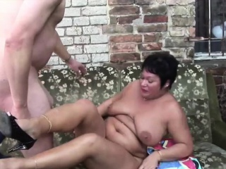 Screwing a German BBW