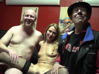 Dutch prozzie tugs cock