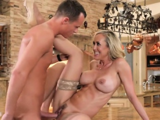 Big-busted Milf Gets A..