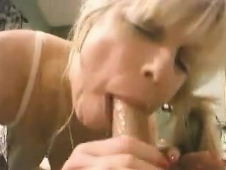 Pure amateur blonde gives a..