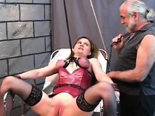 Flaming unconcealed spanking..