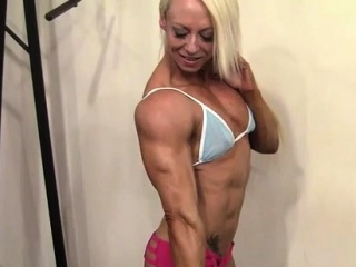 Sexy Sissified Bodybuilder..