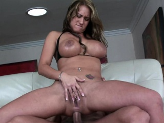 Busty slut gets the brush..