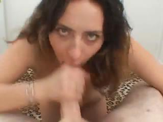 Big tits babe blowjob with..