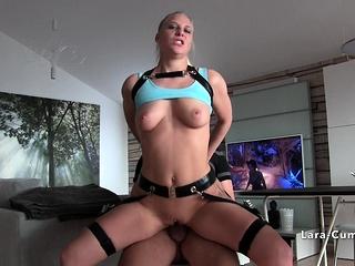 Big boobs blonde sucking and..