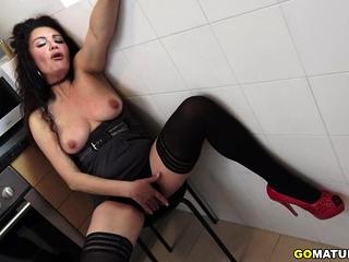 Spanish housewife Zazel..