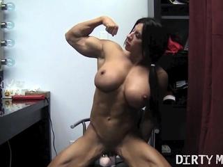 Naked Female Bodybuilder..