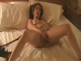 Amateur Wife Toys Her Pussy..