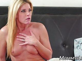 Beautiful stepmom seduced by..
