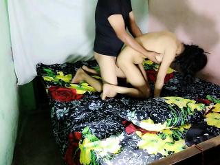 Indian Housewife Enjoying..
