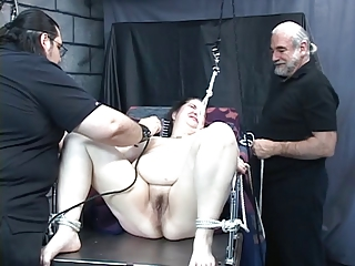 Fat bitch gets tortured by..