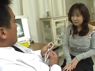 asian doctor and asian..