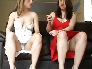 Sexy dress upskirt hotties