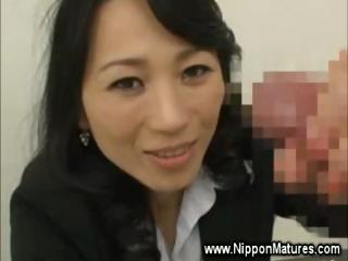 Naughty asian housewife..