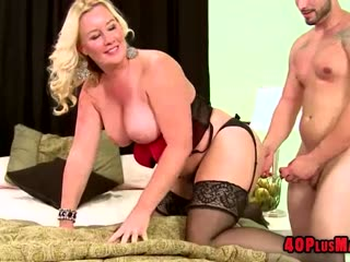 Blonde Housewife Anal..