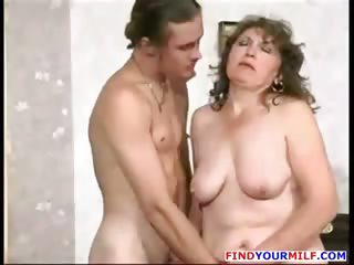 Busty Russian house wife..