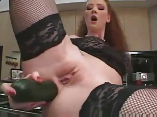 Redhead Audrey Extreme..
