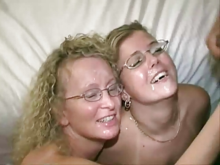 2 Fair-haired Milfs in..