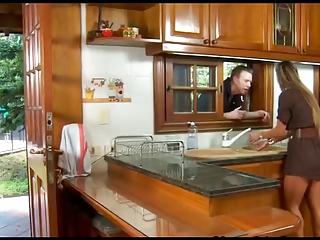 Crotchety spanish housewife..