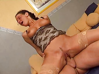 Milf in Stockings and..