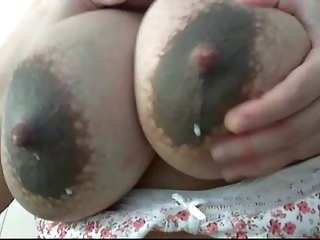 Milf's big breasts..