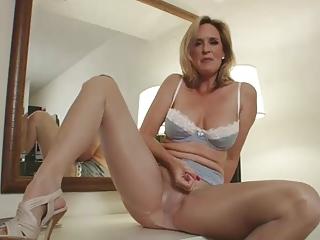 Cum On My Sexy Pantyhose..