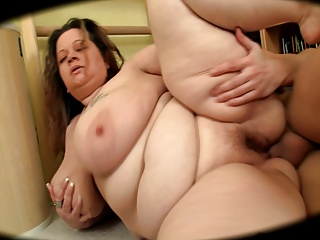 Broad in the beam Tushie BBW..