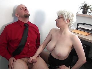 Milf Unselfish Breast Office..