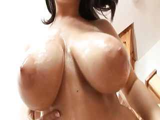 Unpractised chunky phat tits..