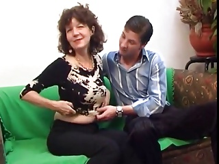 Adult dame and guy - 40