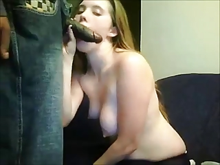 Amateur wife fucked by black