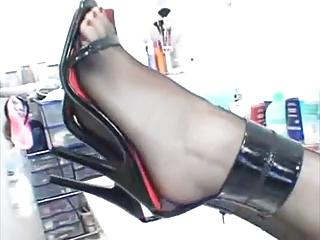 ..cole schwarze heels..