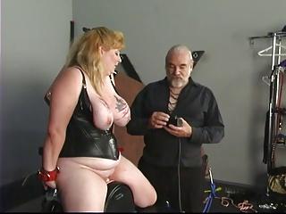 Big tit blonde in hush up..
