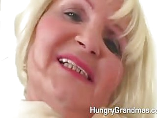 Old granny fucked and toyed