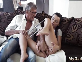 Extreme daddy fuck Her..