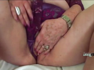 Chubby old slut with huge..