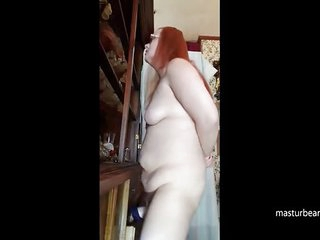 Russian mom Olga fucks her..